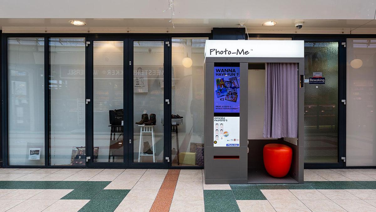 Foto booth / etalage